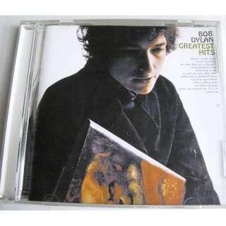 CD BOB DYLAN GREATEST HITS 93%NEW BLOWIN' IN THE WIND, MR TAMBOURINE MAN, LIKE A ROLLING STONE