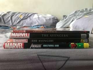 Marvel comics Avengers set