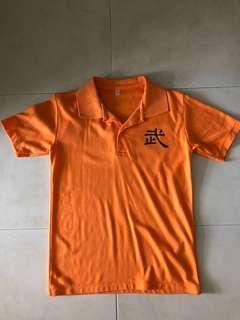 Preloved Mee Toh School Wu Shu Shirt & Pants