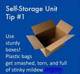 🚚 Small storage space