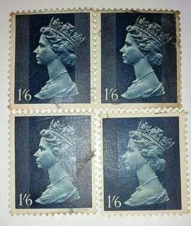 Colonial British Old Collectors Stamp