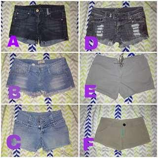 Shorts for her