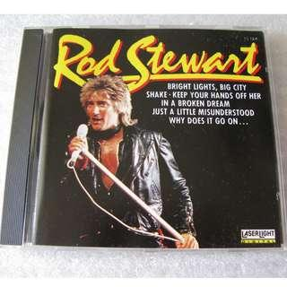 CD ROD STEWART 93%NEW MADE IN GERMANY IN A BROKEN DREAM, SHAKE, BIG CITY