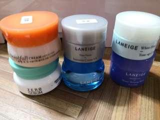 Laneige etude house sample cream sleeping mask