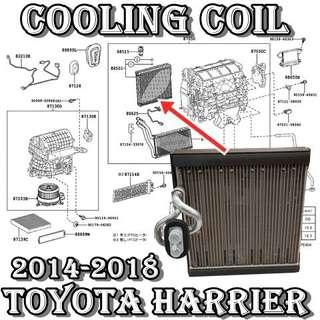 Toyota Harrier 2014-2018~ZSU60 Evaporator Coil Denso Made in Japan Car Air Con Workshop Services and Repair