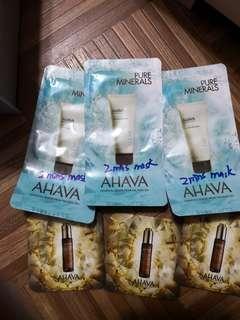 Ahava sample mask