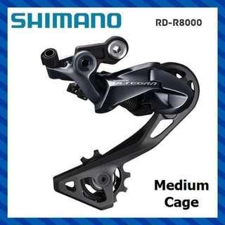 Shimano Ultegra RD-R8000-GS 11 Speed Rear Derailleur - Medium Cage [New]