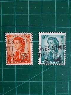 1960年代 「地址正確 可免郵誤」宣傳郵戳 舊票兩枚