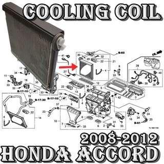 Honda Accord 2008-2013~CU2,CP1,CP2 Denso Brand Evaporator Coil Made in japan Car Air Con Workshop Services and Repair