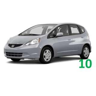 $1250 Monthly Car Rental Honda Jazz / Fit