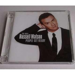 CD RUSSELL WATSON PEOPLE GET READY 90%NEW ME AND MRS JONES, GEORGIA, SOUL MAN