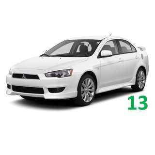 3 Months Contract Mitsubishi Lancer EX $350 / Week