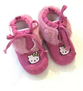 Authentic Hello Kitty Baby Girl Shoes Size 3 Months