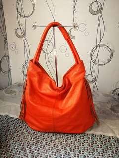 💯PALIO Italy Orange Hobo