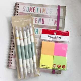 notes clearance set