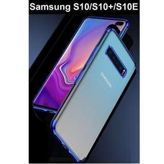 Samsung Galaxy S10 / S10 Plus S10E Shell Plated Border Case