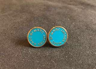 (Free Shipping) Authentic Marc by Marc Jacobs Blue Earrings 耳環