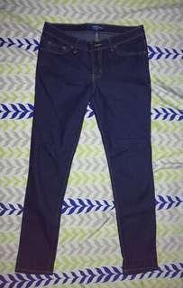Folded and Hung Ladies Pants