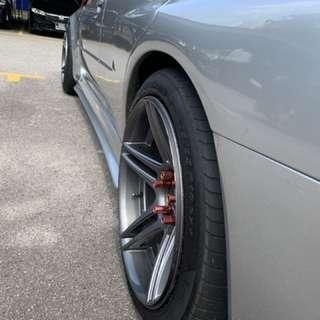 18 inch Sports Rims with Tyre