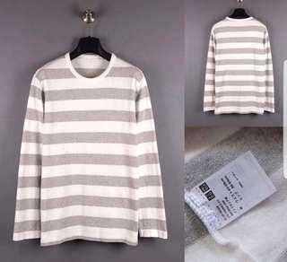 Uniqlo stripe longsleeve