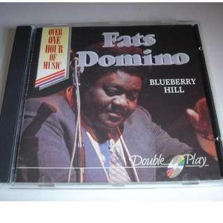CD FATS DOMINO BLUEBERRY HILL 93%NEW WHOLE LOTTA LOVING, GOING HOME, I'M READY, JAMBALAYA