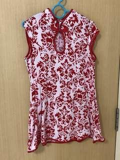 Cheongsam dress for girls