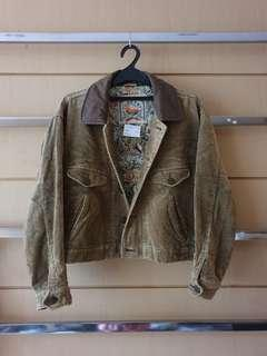 Vintage SUDBURY Moss Green Men Corduroy Jacket