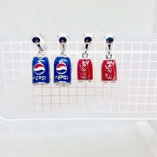 耳夾🧡全新汽水罐款 百事可口可樂(06)