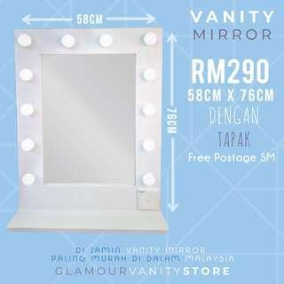 Vanity Mirror Terlajak Murah