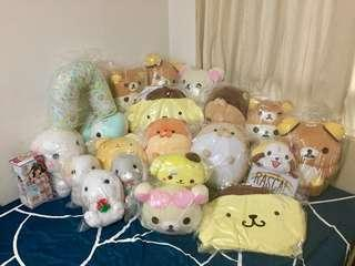 Toreba plushes and toys for $15