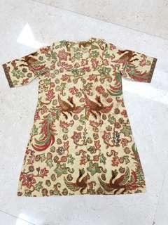 Dress Batik ( Preloved )