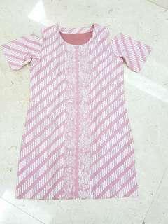 Batik Dress ( Preloved )