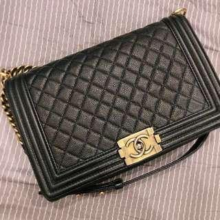 🚚 Chanel Boy Bag large size