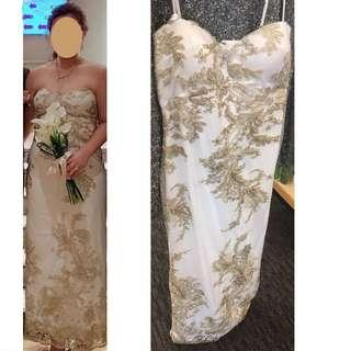 Evening Gown - US size 10 ~ 結婚
