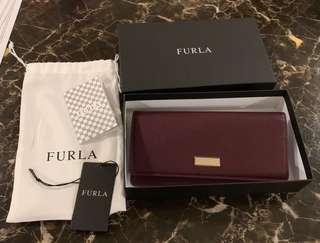 Authentic furla Long wallet brand new with box