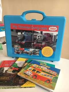 Thomas & Friends story books + carry case