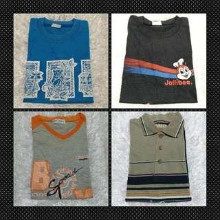 Boy's t-shirts/poloshirt