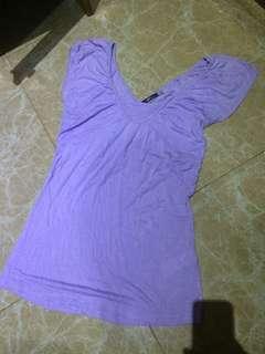 purple top bahan lemes