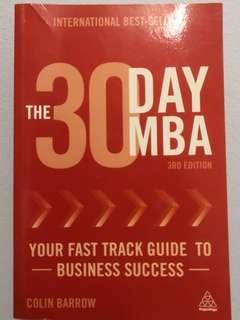 The 30-D MBA challenge #STB50