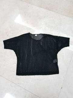 Baju Jaring ( Preloved )