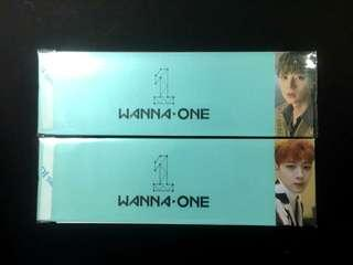 [WTS]OFFICIAL Wanna One POD Romance ver Sleeves Minhyun Guanlin