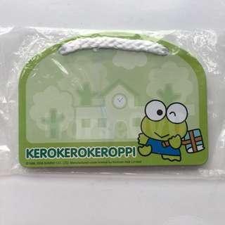 [包平郵] Kerokero keroppi 告示小鐵板 連一件磁貼