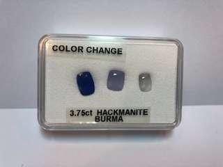 Hackmanite - Color Change (Burma - 3.75ct)