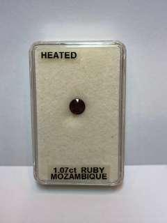 Ruby (Mozambique - 1.07ct)