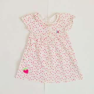 CARTER'S BABY GIRL STRAWBERRY DRESS