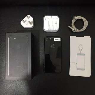 iPhone 7 128gb JetBlack Ex Inter ori Fullset Bisa Tt