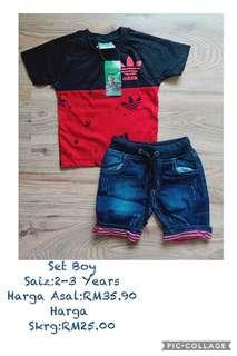 Adidas Set Boy