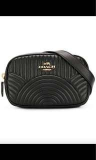 Authentic coach belt bag
