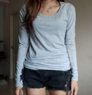 🚚 Factorie Light Grey Pullover
