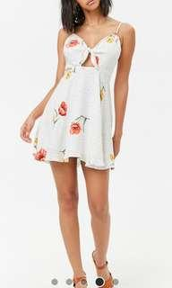 Authentic Forever 21 front-tie Dress